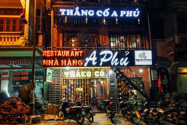 nha hang a phu sapa